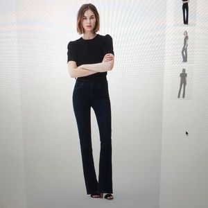 Women's Citizens of Humanity slimboot jeans.
